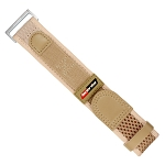 Isobrite IVB100-TAN Tan Nylon & Velcro Band (22mm)
