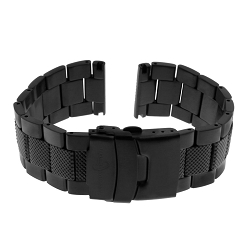 ArmourLite APB600 Black PVD Plated Stainless Steel Band (24mm)