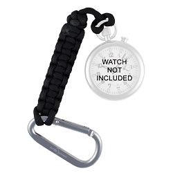 ArmourLite Pocket Watch Paracord Tether with Aluminum Carabiner