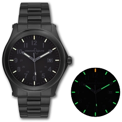 ArmourLite Field Series AL105 Swiss Made Tritium Illuminated Watch with Shatterproof Armourglass