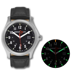 ArmourLite Field Series AL111 Swiss Made Tritium Illuminated Watch with Shatterproof Armourglass