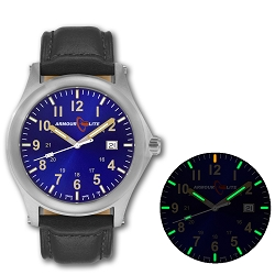 ArmourLite Field Series AL113 Swiss Made Tritium Illuminated Watch with Shatterproof Armourglass