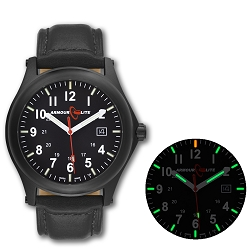 ArmourLite Field Series AL114 Swiss Made Tritium Illuminated Watch with Shatterproof Armourglass