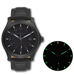 ArmourLite Field Series AL115 Swiss Made Tritium Illuminated Watch with Shatterproof Armourglass