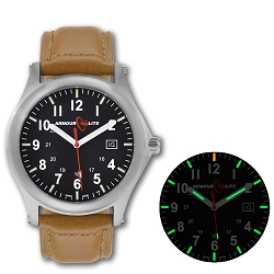 ArmourLite Field Series AL121 Swiss Made Tritium Illuminated Watch with Shatterproof Armourglass