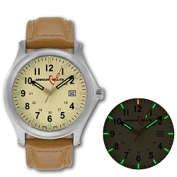 ArmourLite Field Series AL122 Swiss Made Tritium Illuminated Watch with Shatterproof Armourglass