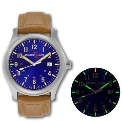 ArmourLite Field Series AL123 Swiss Made Tritium Illuminated Watch with Shatterproof Armourglass