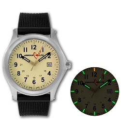 ArmourLite Field Series AL132 Swiss Made Tritium Illuminated Watch with Shatterproof Armourglass