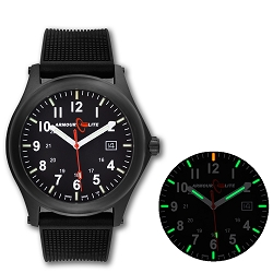 ArmourLite Field Series AL134 Swiss Made Tritium Illuminated Watch with Shatterproof Armourglass