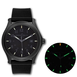 ArmourLite Field Series AL135 Swiss Made Tritium Illuminated Watch with Shatterproof Armourglass