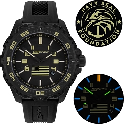 Isobrite Limited Edition T100 Tritium Illuminated Watch Kit Benefiting the Navy SEAL Foundation