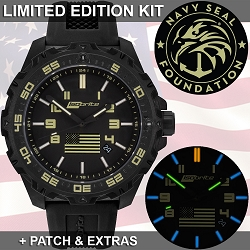 Isobrite Limited Edition Watch Kit Benefiting The Navy SEAL Foundation ISO3001-NSF