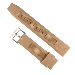 Isobrite IRB100-TAN Tan Silicone Band (22mm)