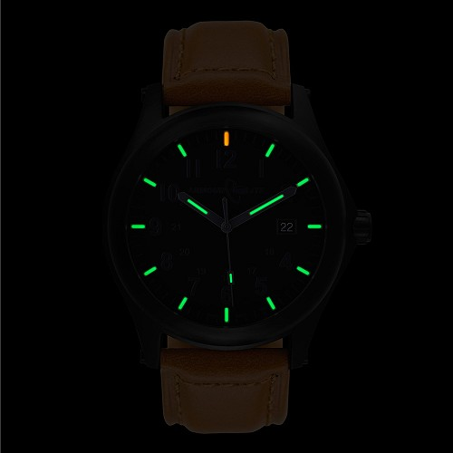 ArmourLite Field Series AL125 Swiss Made Tritium Illuminated Watch with Shatterproof Armourglass