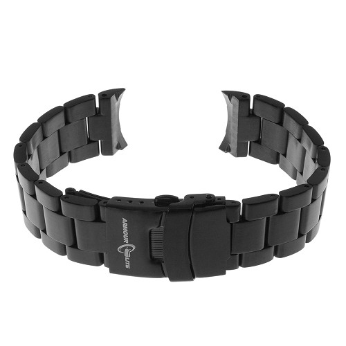 ArmourLite AL300BLK Black PVD Stainless Steel Band (22mm)