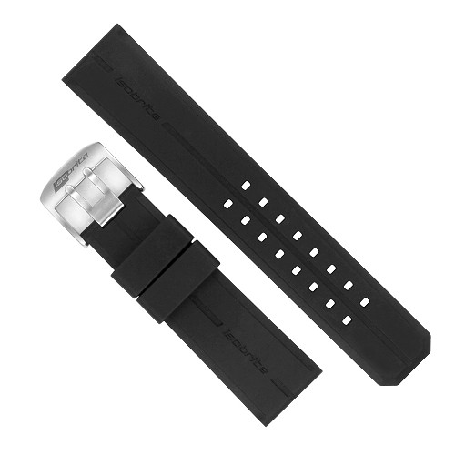Isobrite IRB400 Black Silicone Band (24mm)