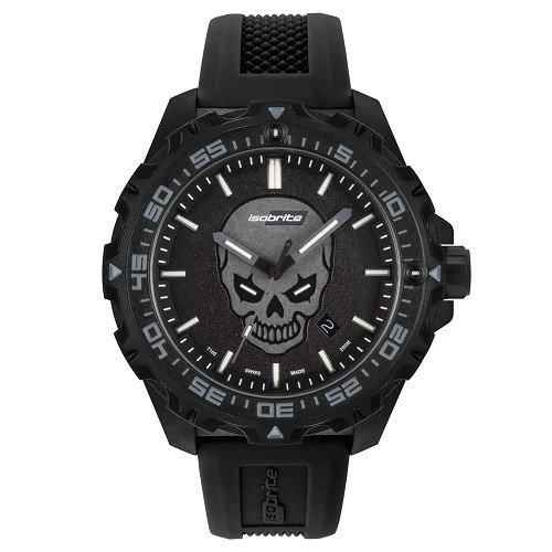 Isobrite ISO3007 Enforcer II Limited Edition T100 Tritium Illuminated Watch (Glowing Skull)