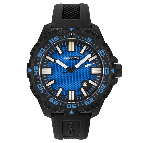 Isobrite ISO4001 Afterburner Blue T100 Tritium Illuminated Watch