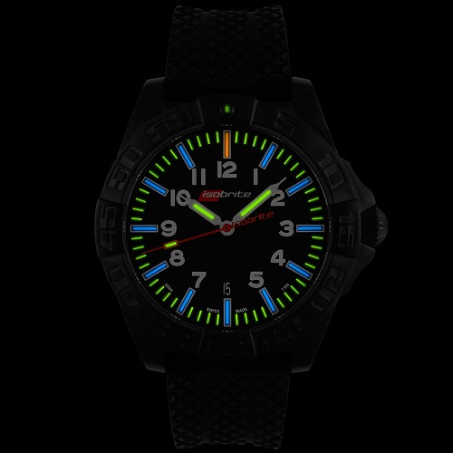 Isobrite ISO722 Swiss Made Automatic with 64 x T100 Tritium Markers